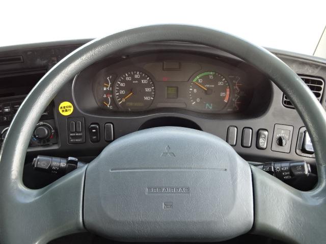 三菱 H18 スーパーグレート 4軸低床アルミウィング 格納PG 画像21