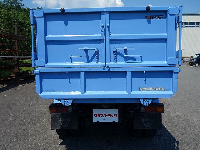 三菱 H15 キャンター 深ダンプ 車検付  画像8