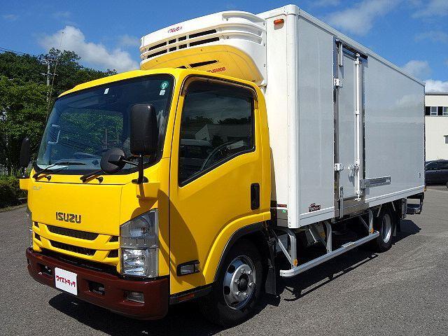 いすゞ H28 エルフ 低温冷凍車 両側サイド扉 格納PG 車検付 画像1