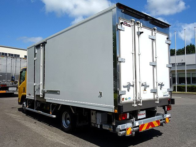 いすゞ H28 エルフ 低温冷凍車 両側サイド扉 格納PG 車検付 画像6