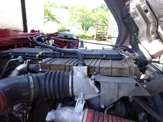 三菱 H22 スーパーグレート 3軸低温冷凍車 画像21