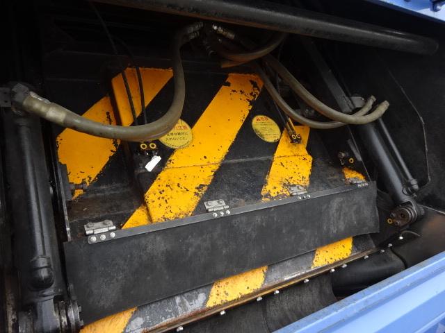 いすゞ H26 エルフ 塵芥車 プレスパッカー 押出式 2t 画像9