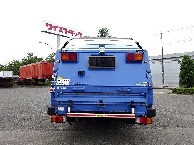 いすゞ H26 エルフ 塵芥車 プレスパッカー 押出式 2t 画像7