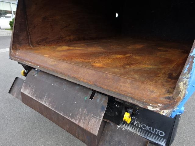 いすゞ H21 エルフ 塵芥車 回転式 ダンプ式  3t 画像13