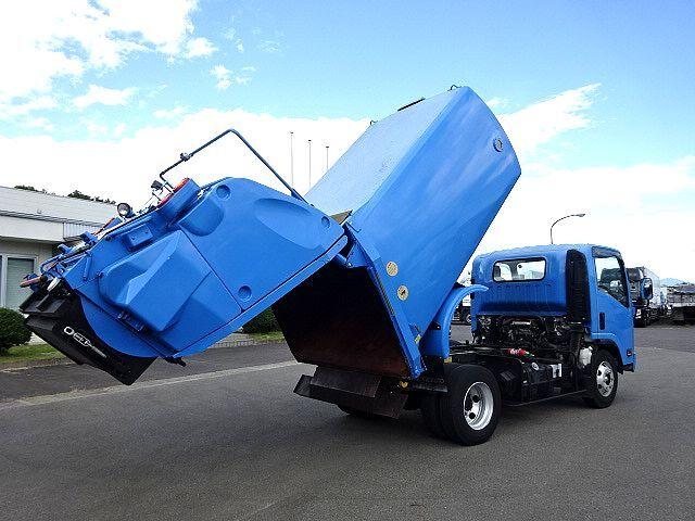 いすゞ H21 エルフ 塵芥車 回転式 ダンプ式  3t 画像9