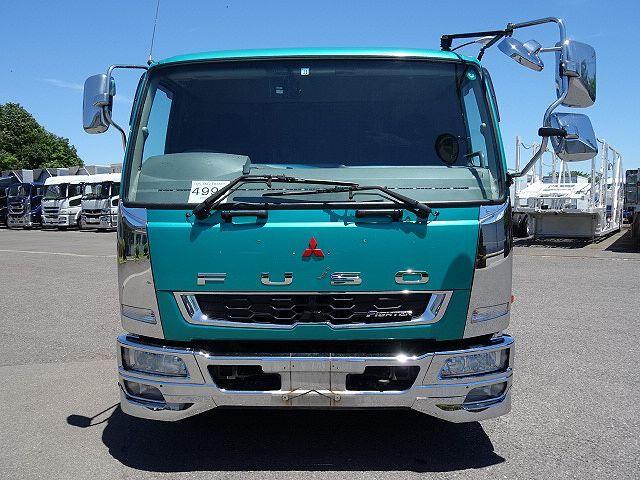 三菱 H25 ファイター 増トン ワイド アルミブロック 4段クレーン 画像3