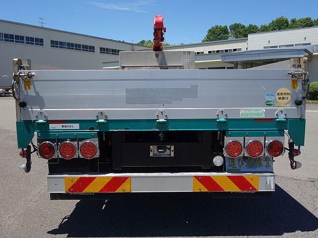 三菱 H25 ファイター 増トン ワイド アルミブロック 4段クレーン 画像8