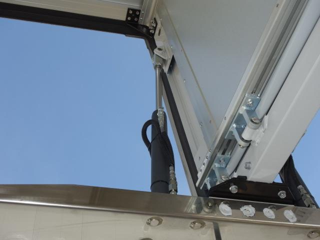 三菱 R1 スーパーグレート ハイルーフ 4軸低床アルミウィング 融雪仕様 画像15