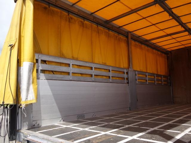 三菱 H24 ファイター 幌カーテン 平 アルミブロック 画像12