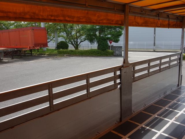 三菱 H24 ファイター 幌カーテン 平 アルミブロック 画像17