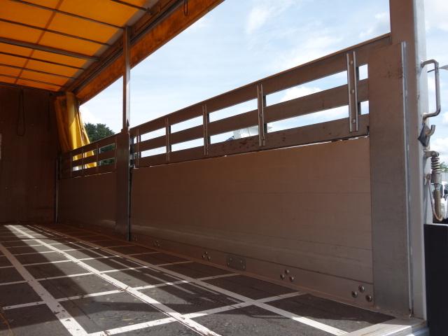 三菱 H24 ファイター 幌カーテン 平 アルミブロック 画像13