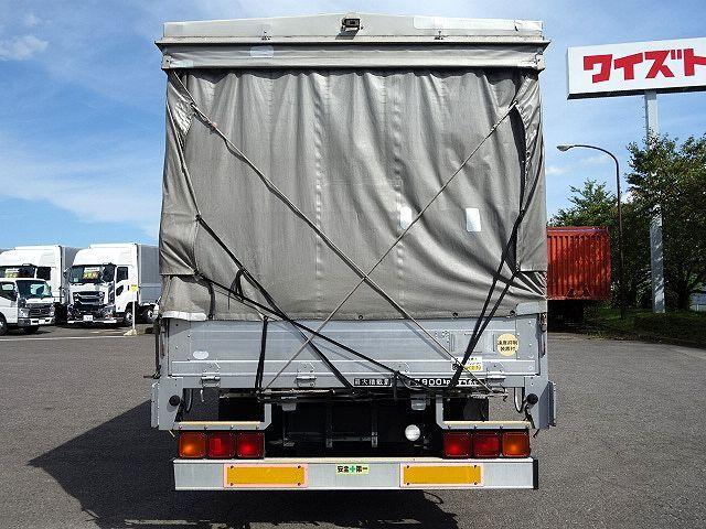いすゞ H20 フォワード 増トン 幌カーテン 平 アルミブロック 画像7