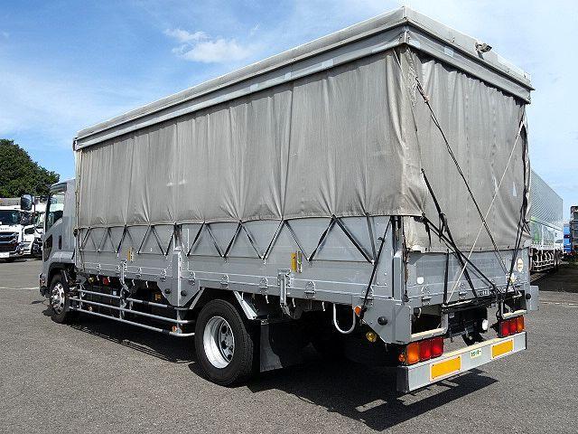 いすゞ H20 フォワード 増トン 幌カーテン 平 アルミブロック 画像8