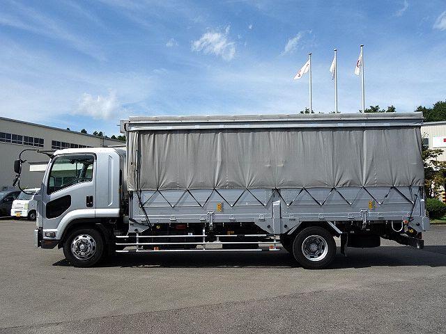 いすゞ H20 フォワード 増トン 幌カーテン 平 アルミブロック 画像5