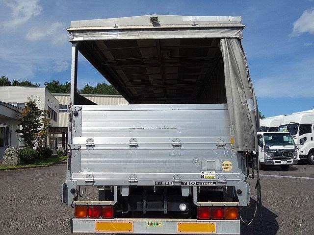 いすゞ H20 フォワード 増トン 幌カーテン 平 アルミブロック 画像10