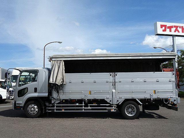 いすゞ H20 フォワード 増トン 幌カーテン 平 アルミブロック 画像11