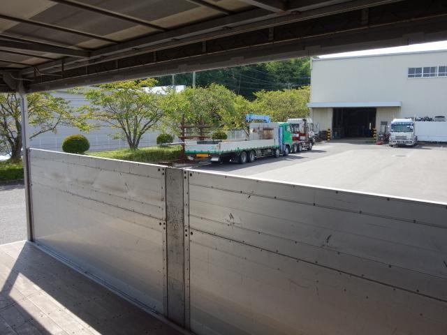 いすゞ H20 フォワード 増トン 幌カーテン 平 アルミブロック 画像15