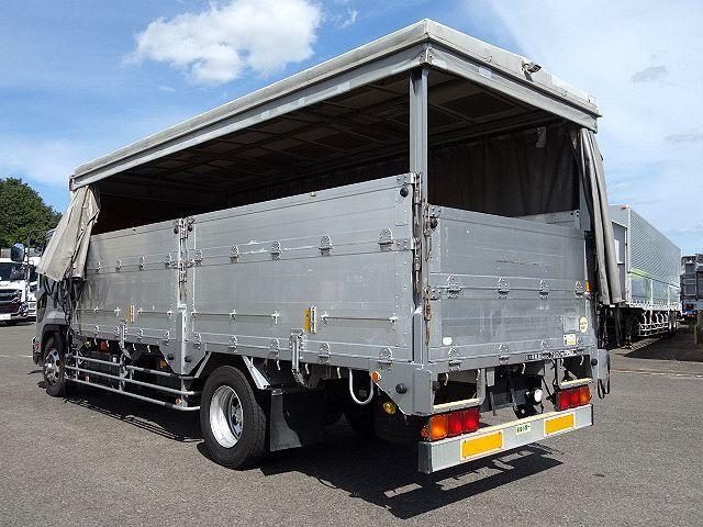 いすゞ H20 フォワード 増トン 幌カーテン 平 アルミブロック 画像9