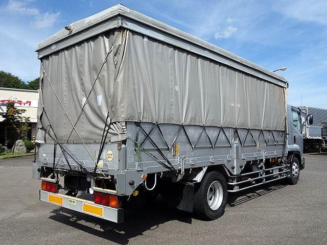 いすゞ H20 フォワード 増トン 幌カーテン 平 アルミブロック 画像6