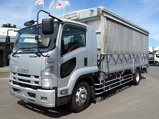 いすゞ H20 フォワード 増トン 幌カーテン 平 アルミブロック 画像1