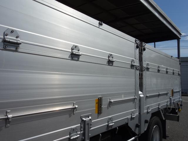 いすゞ H20 フォワード 増トン 幌カーテン 平 アルミブロック 画像17