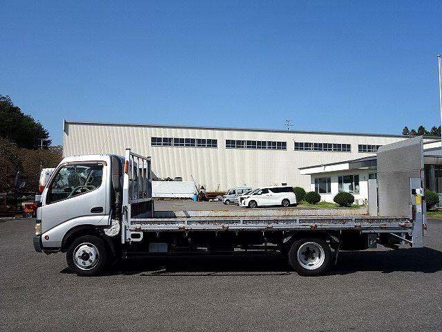 トヨタ H15 トヨエース 平 パワーゲート バイク運搬車 車検付 画像4