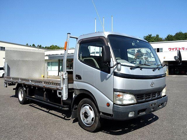 トヨタ H15 トヨエース 平 パワーゲート バイク運搬車 車検付 画像3