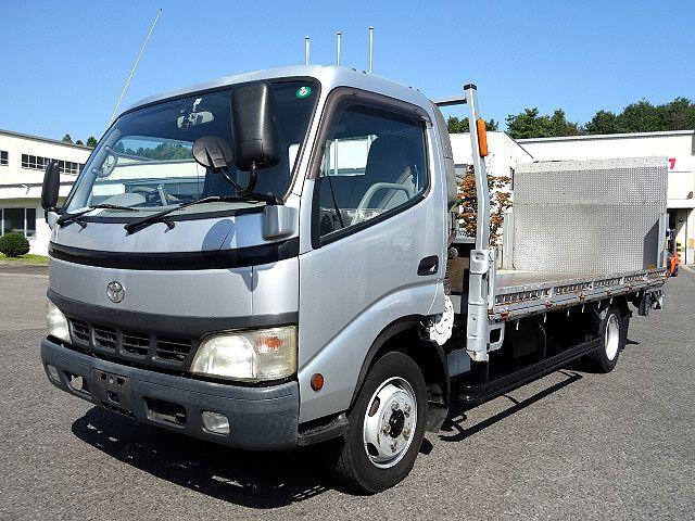 トヨタ H15 トヨエース 平 パワーゲート バイク運搬車 車検付 画像1
