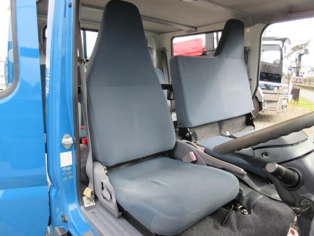 三菱 H24 キャンター 4WD Wキャブ 平ボデー 車検付 画像22