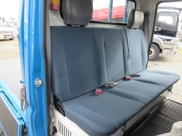 三菱 H24 キャンター 4WD Wキャブ 平ボデー 車検付 画像24