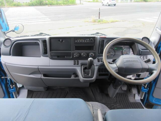 三菱 H24 キャンター 4WD Wキャブ 平ボデー 車検付 画像19