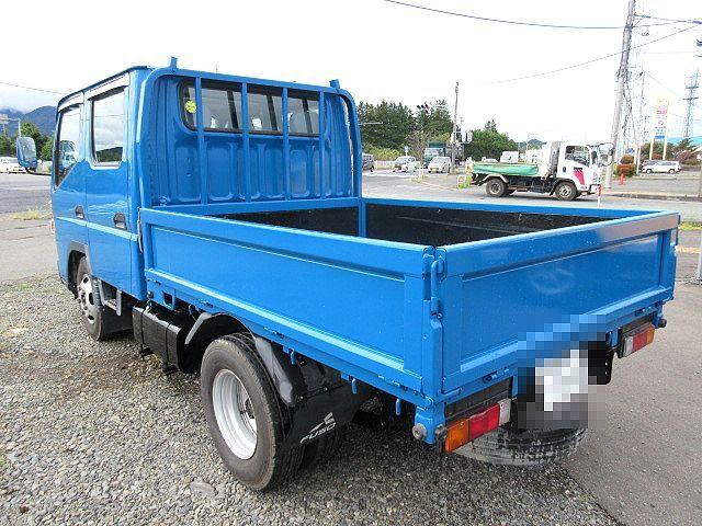 三菱 H24 キャンター 4WD Wキャブ 平ボデー 車検付 画像6