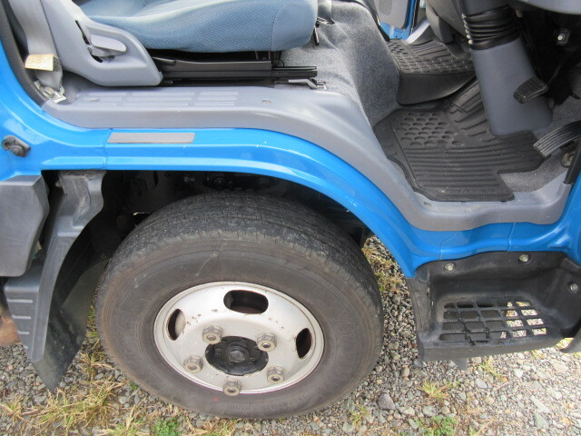 三菱 H24 キャンター 4WD Wキャブ 平ボデー 車検付 画像18