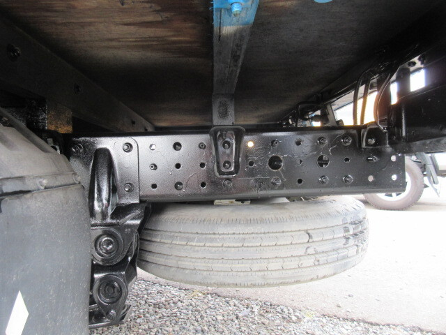 三菱 H24 キャンター 4WD Wキャブ 平ボデー 車検付 画像12