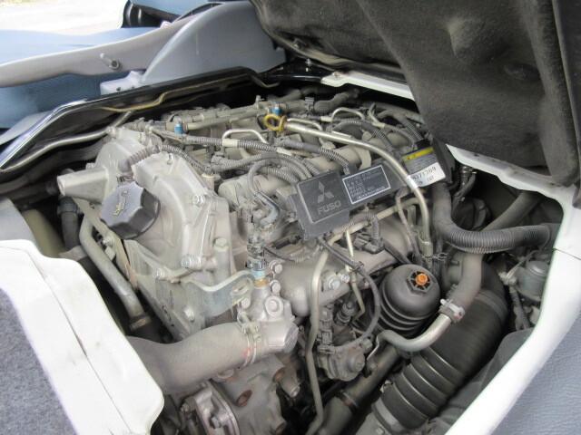 三菱 H24 キャンター 4WD Wキャブ 平ボデー 車検付 画像28