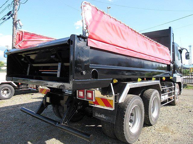 三菱 H25 スーパーグレート ダンプ Fゲート 車検付 画像8