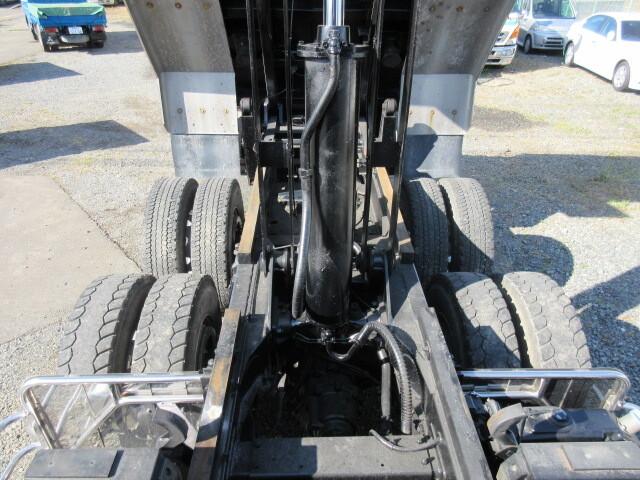 三菱 H25 スーパーグレート ダンプ Fゲート 車検付 画像14