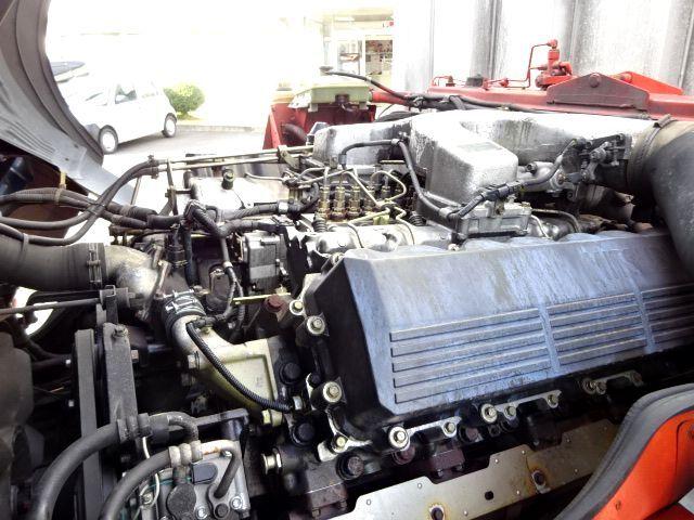 三菱 H15 V8 スーパーグレート ハイルーフ アルミウィング 画像10