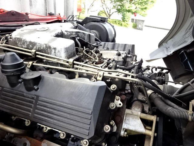 三菱 H15 V8 スーパーグレート ハイルーフ アルミウィング 画像11