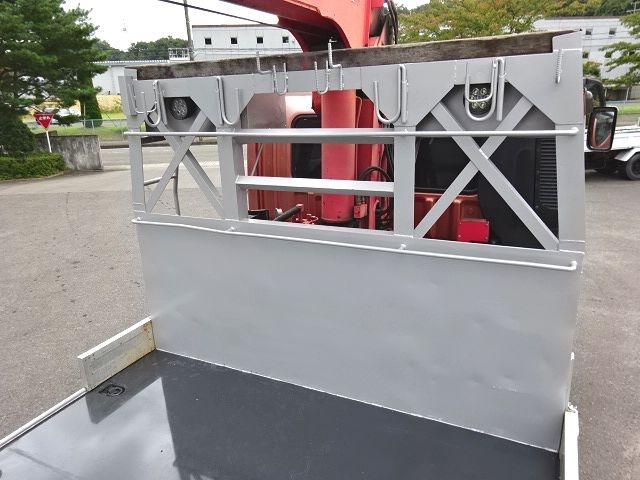 三菱 H16 スーパーグレート 3軸低床 平3段クレーン 画像13