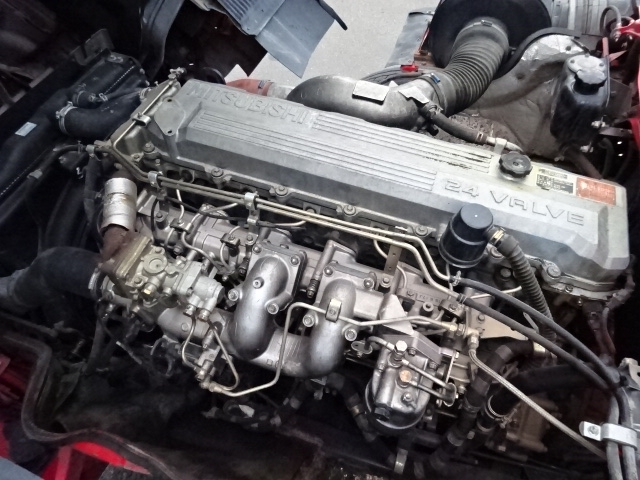 三菱 H16 スーパーグレート 3軸低床 平3段クレーン 画像29