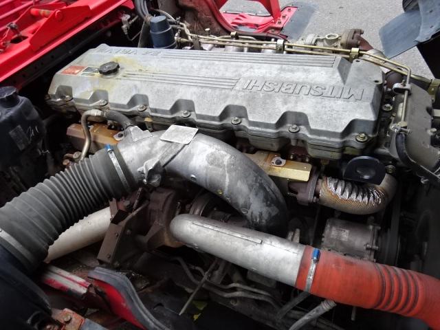 三菱 H16 スーパーグレート 3軸低床 平3段クレーン 画像30