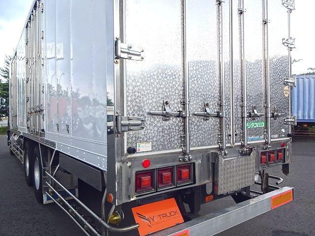 いすゞ H21 ギガ 3軸 冷蔵冷凍車 サイドダブル観音扉 画像14
