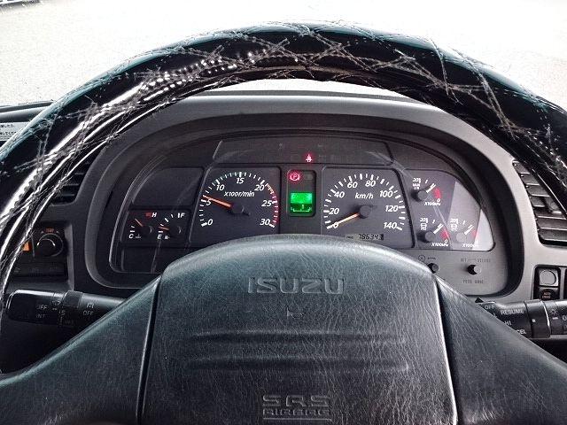 いすゞ H21 ギガ 3軸 冷蔵冷凍車 サイドダブル観音扉 画像23