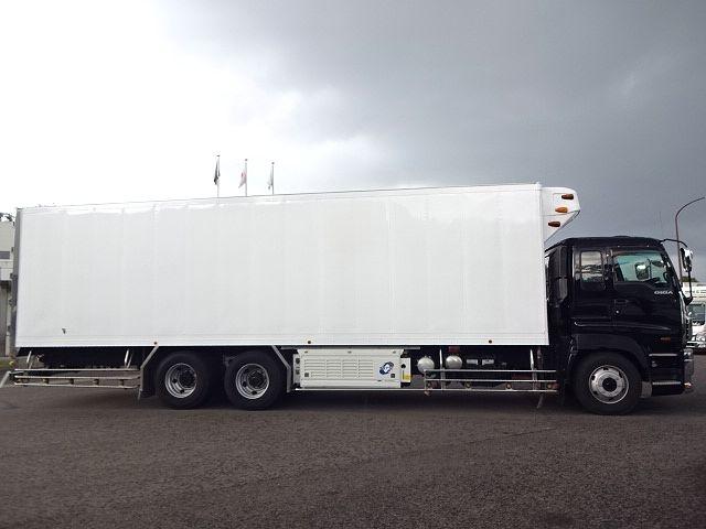 いすゞ H21 ギガ 3軸 冷蔵冷凍車 サイドダブル観音扉 画像6