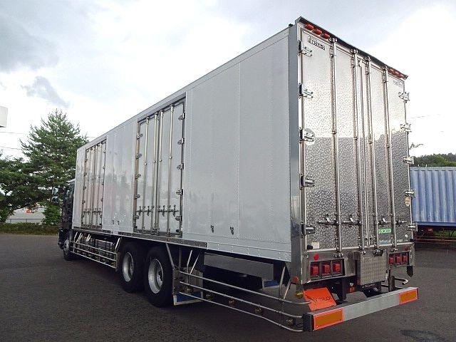 いすゞ H21 ギガ 3軸 冷蔵冷凍車 サイドダブル観音扉 画像7