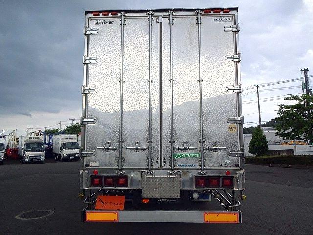 いすゞ H21 ギガ 3軸 冷蔵冷凍車 サイドダブル観音扉 画像8