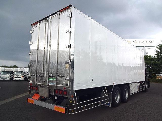 いすゞ H21 ギガ 3軸 冷蔵冷凍車 サイドダブル観音扉 画像9