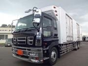 いすゞ H21 ギガ 3軸 冷蔵冷凍車 サイドダブル観音扉