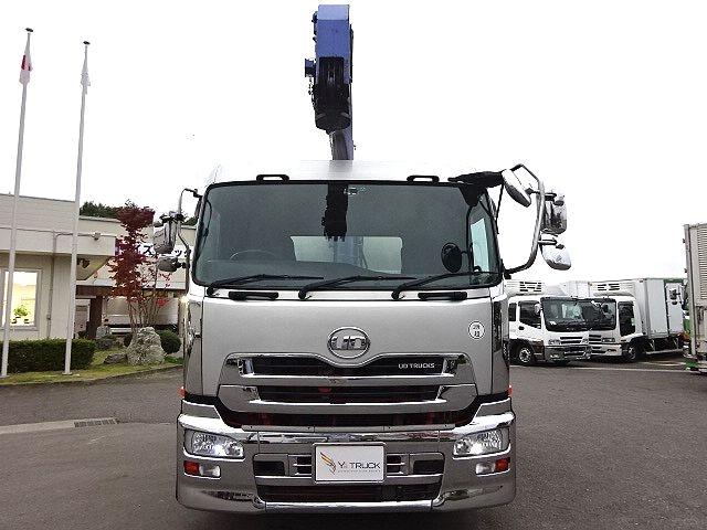 UD H24 クオン セルフ 3段クレーン 車検付き ★ 画像3